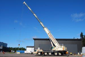 250t mobile crane