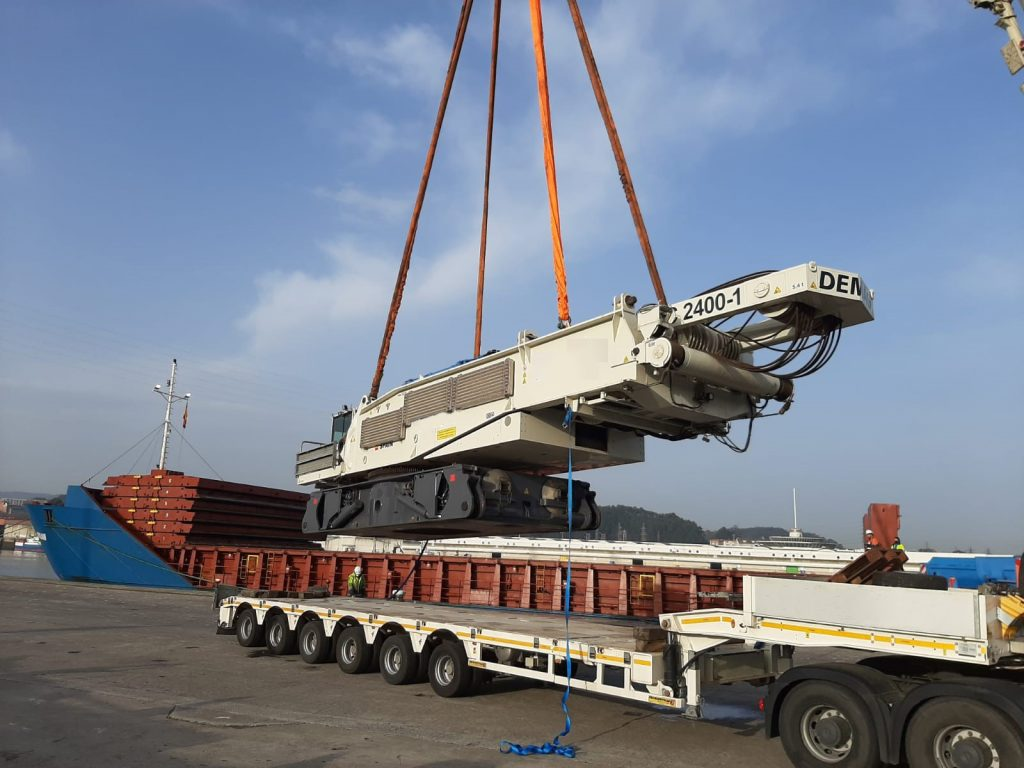 400 tonnin demag telanosturi